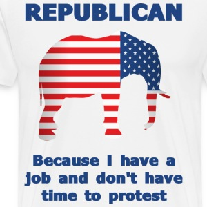 Funny Republican - Men's Premium T-Shirt