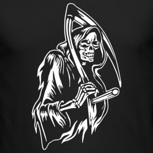 Grin Of The Reaper - Men's Long Sleeve T-Shirt by Next Level