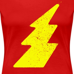 Grunge lightning flash - Women's Premium T-Shirt
