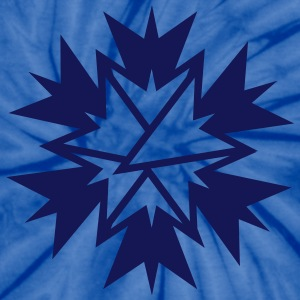 An abstract star T-Shirts - Unisex Tie Dye T-Shirt