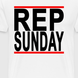 rep_sunday_ - Men's Premium T-Shirt