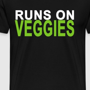 runs_on_veggies_ - Men's Premium T-Shirt