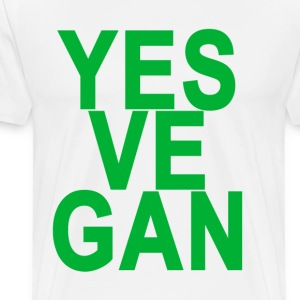 yes_vegan_ - Men's Premium T-Shirt