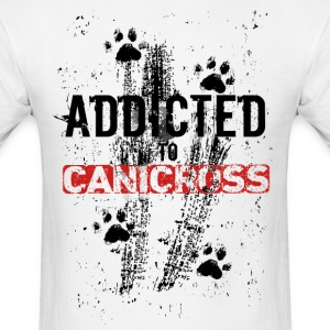 Addicted to CANICROSS - Men's T-Shirt