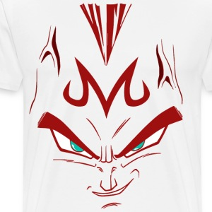vegeta majin face - Men's Premium T-Shirt
