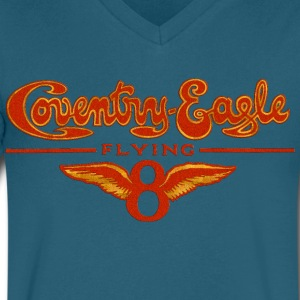 Coventry Eagle T-Shirts - Men's V-Neck T-Shirt by Canvas