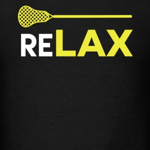 ReLAX Lacrosse Sticks T-Shirt - Men's T-Shirt
