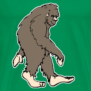 Cute Bigfoot  - Men's Premium T-Shirt