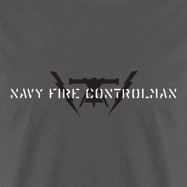 NAVY FIRE CONTROLMAN - TSHIRT