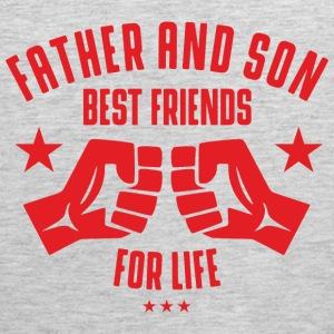 Father and Son best friends for life Sportswear - Men's Premium Tank