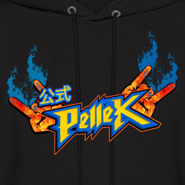 Hoodie with PelleK logo