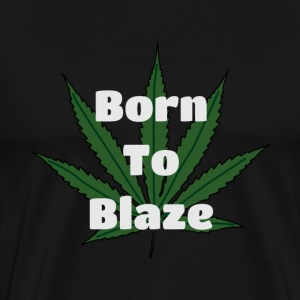Born To Blaze - Men's Premium T-Shirt