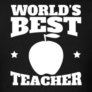 World's Best Teacher Graphic - Men's T-Shirt