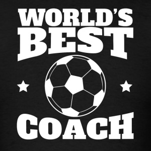 World's Best Soccer Coach Graphic - Men's T-Shirt