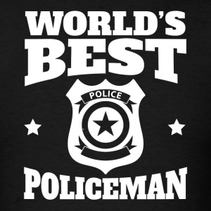 World's Best Policeman Graphic - Men's T-Shirt