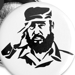 Fidel Castro Buttons - Large Buttons