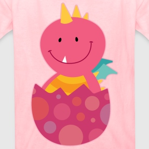Dragon Girl Baby Cute Fun Kids' Shirts - Kids' T-Shirt