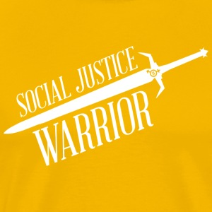 Social Justice Warrior - Men's T - Men's Premium T-Shirt