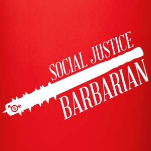 Social Justice Barbarian - Mug - Full Color Mug