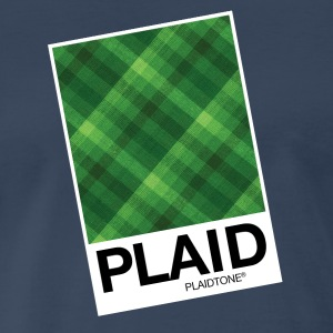 Plaidtone - Make Plaid your Favorite Color - Men's Premium T-Shirt