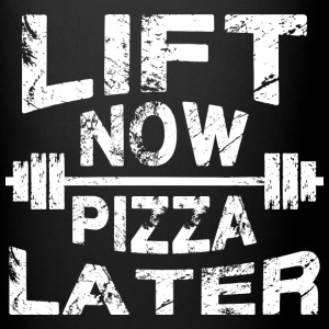 Lift Now, Pizza Later Mugs & Drinkware - Full Color Mug