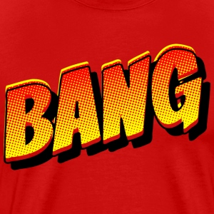 Bang - Comic Book Sound T-Shirts - Men's Premium T-Shirt