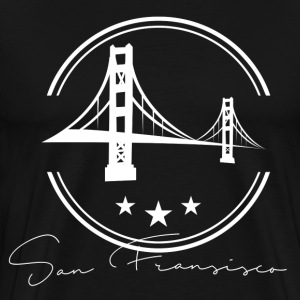 San Francisco, CA White T-Shirts - Men's Premium T-Shirt