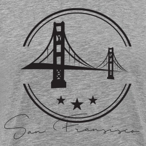 San Francisco vector T-Shirts - Men's Premium T-Shirt