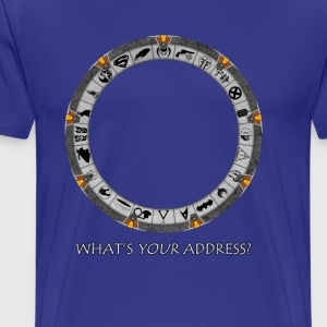 OmniGate (What's Your Address version) T-Shirts - Men's Premium T-Shirt