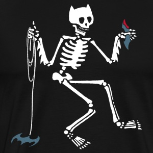 Bat-Skelly - Men's Premium T-Shirt