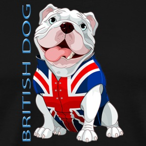 British Dog - Men's Premium T-Shirt