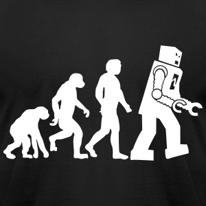 Big Bnag Theory Evolution - Men's T-Shirt by American Apparel