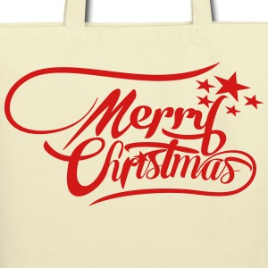 fontchristmas Bags & backpacks - Eco-Friendly Cotton Tote