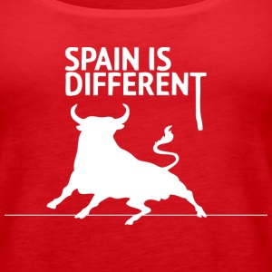 Spain is Different 2 (dark) Tanks - Women's Premium Tank Top