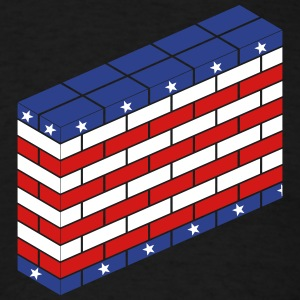 The American Wall - Men's T-Shirt