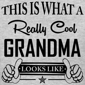 This Is What a Really Cool Grandma Looks Like T-Shirts - Women's T-Shirt