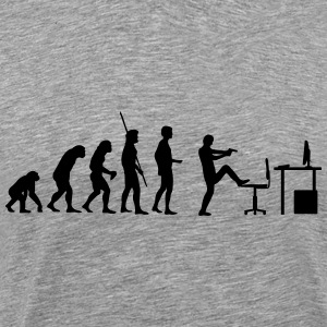 Evolution PC Shot Shirt - Men's Premium T-Shirt