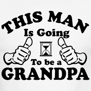 This Man Is Going To Be A Grandpa T-Shirts - Men's Ringer T-Shirt