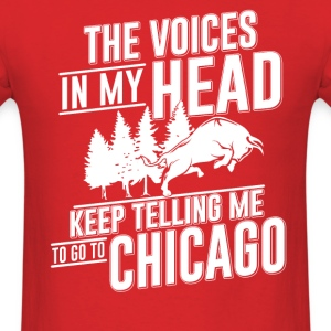 Chicago my Heart Tshirt - Men's T-Shirt