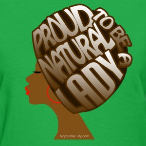 Natural Hair Artistic Afro - Women's T-Shirt
