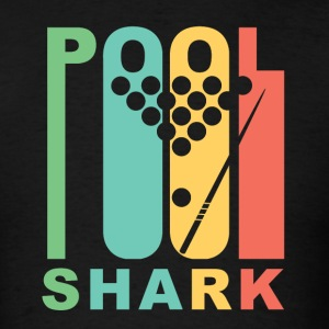 Vintage Style Pool Shark Retro Billiards - Men's T-Shirt
