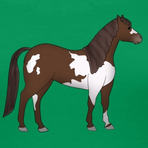 Paint Horse brown white T-Shirts - Women's Premium T-Shirt