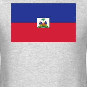 Flag of Haiti Cool Haitian Flag - Men's T-Shirt
