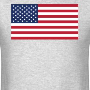 Flag of the United States Cool American Flag - Men's T-Shirt