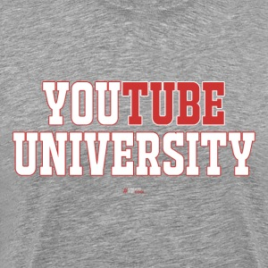 YouTube University - Men's Premium T-Shirt