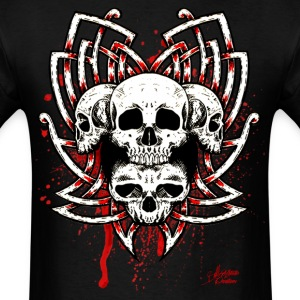 Celtic Quad Skull - Men's T-Shirt