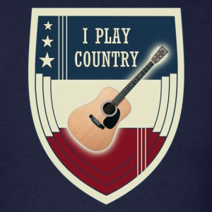 i play country - Men's T-Shirt