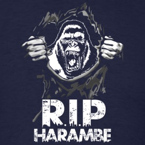 RIP Harambe - Men's T-Shirt