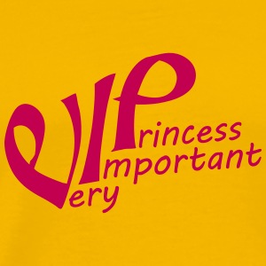 Font pink princess queen princess queen crown pret T-Shirts - Men's Premium T-Shirt