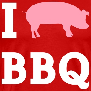 I Cook BBQ - Men's Premium T-Shirt